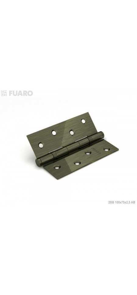 Петля накладная Fuaro 2BB 100x75x2.5