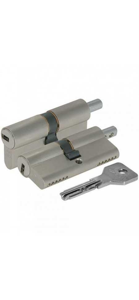 Цилиндровый механизм ASIX OE302-23.12 (100 мм/45+10+45)