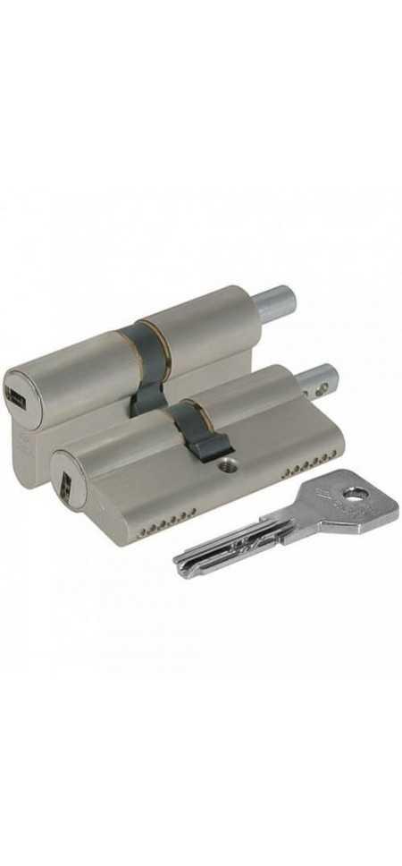 Цилиндровый механизм ASIX OE302-89.12 (110 мм/55+10+45)