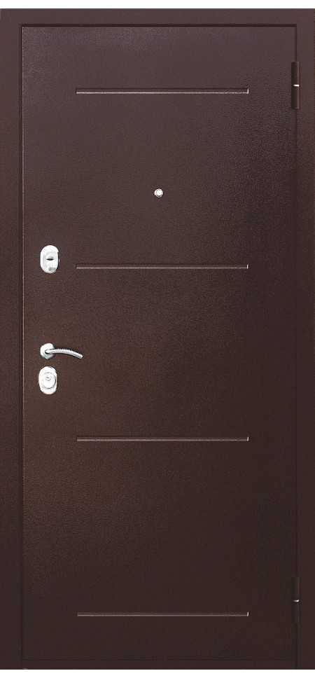 Входная дверь Гарда Медный Антик 7,5см