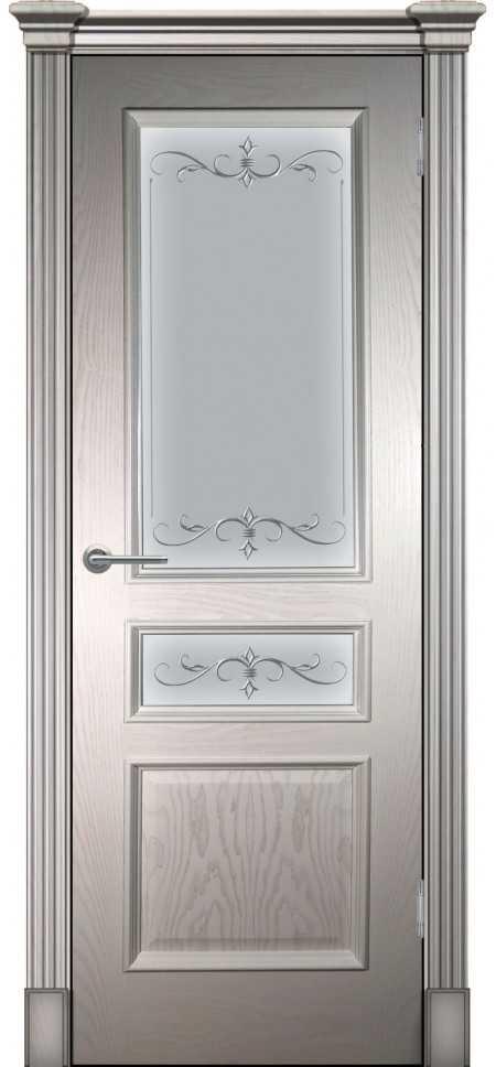 Межкомнатная дверь Оливия (классика) Ваниль