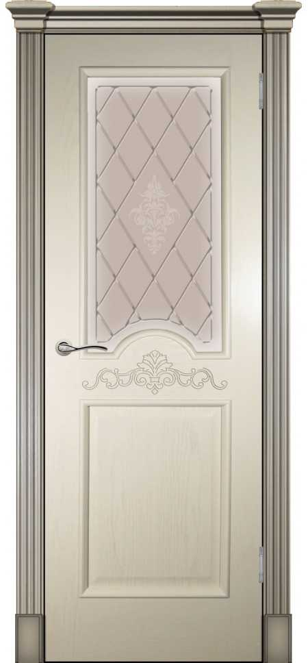 Межкомнатная дверь Париж Крем